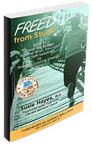 Freed from Stuck book by author Susie Hayes